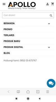 APOLLO GADGET - Toko Belanja Online screenshot 1