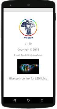 irisBlue poster