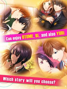First Love Story【otome・yaoi・yuri】otaku dating sim Cartaz