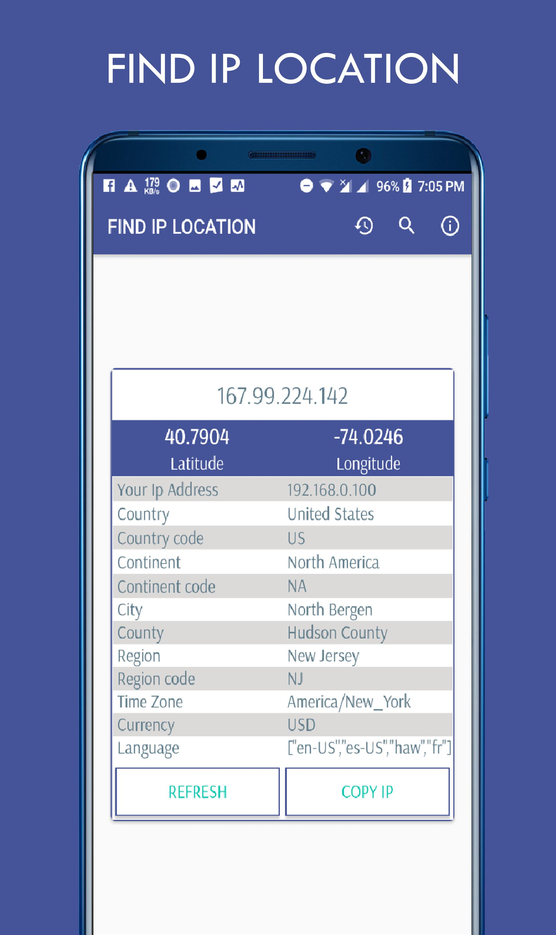Find IP Location for Android - APK Download
