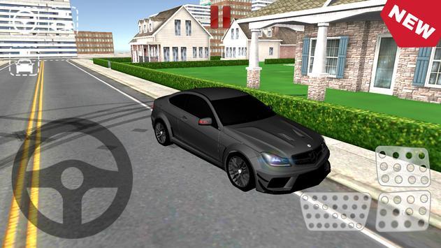 Real Drift Racing AMG C63 screenshot 1