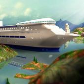 Tourist Transport Ship Game - Cruise Ship Driving icon