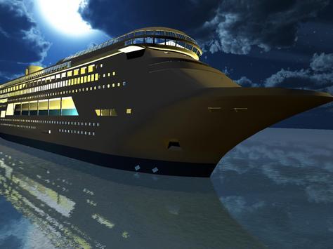Tourist Transport Ship Game - Cruise Ship Driving screenshot 7