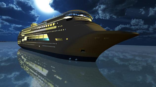Tourist Transport Ship Game - Cruise Ship Driving screenshot 11