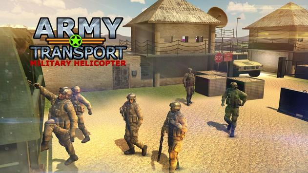 Real Army Helicopter Simulator Transport Games screenshot 2