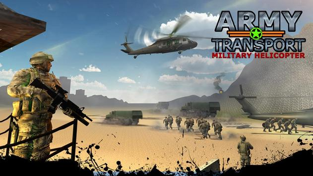 Real Army Helicopter Simulator Transport Games screenshot 3