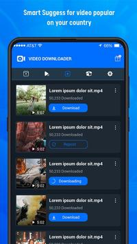 F Downloader: Video Download for Facebook 스크린샷 4