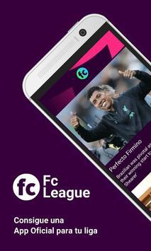 Fc League - Official App poster