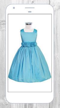 Baby girl dress poster