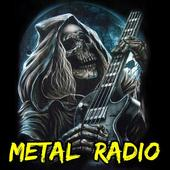 Heavy Metal and Rock music radio icon