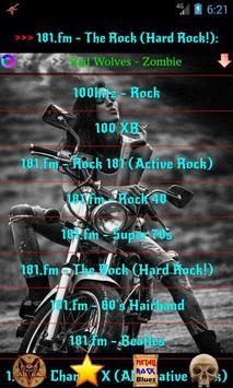 Heavy Metal and Rock music radio screenshot 3