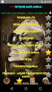 Heavy Metal and Rock music radio screenshot 7