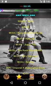 Heavy Metal and Rock music radio screenshot 4