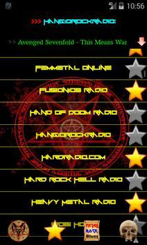 Heavy Metal and Rock music radio screenshot 5