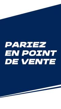 ParionsSport Point De Vente® poster