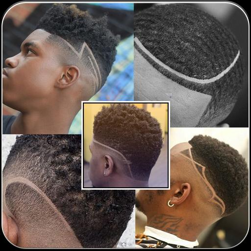 Black Men Line Hairstyle For Android Apk Download