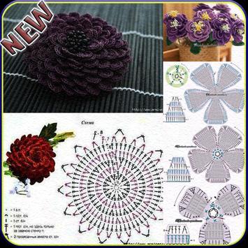 Crochet Flower Pattern Ideas poster