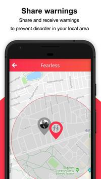 Fearless - Personal safety app screenshot 5