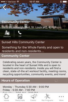 Sunset Hills Parks & Rec screenshot 2