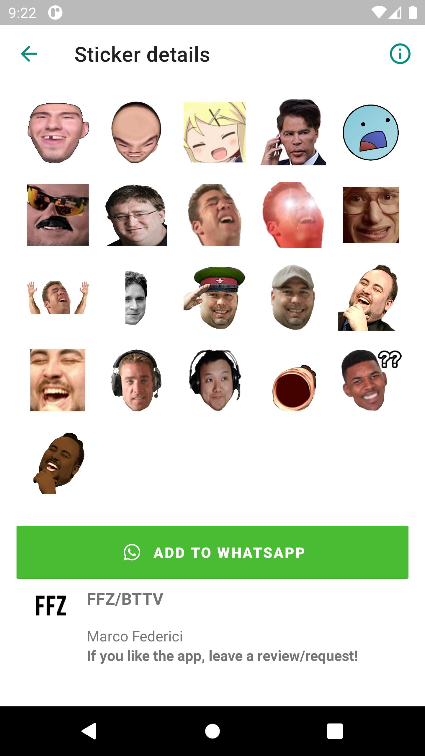 TTV Emotes for WhatsApp for Android - APK Download