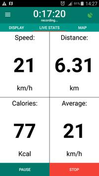 Bike Computer - GPS Cycling Tracker screenshot 1