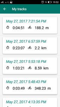 Bike Computer - GPS Cycling Tracker screenshot 3