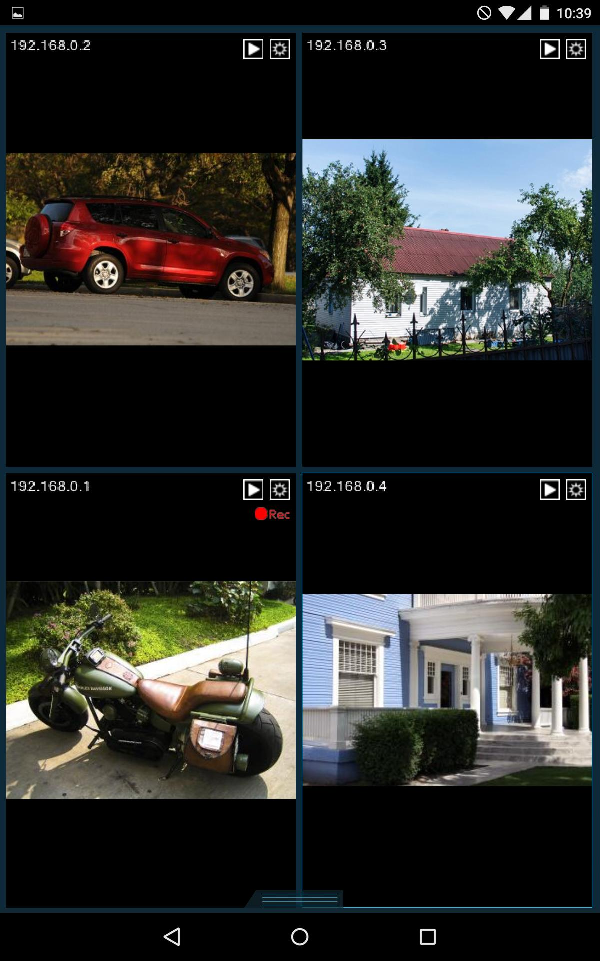 Client part only) Xeoma Video Surveillance for Android - APK Download