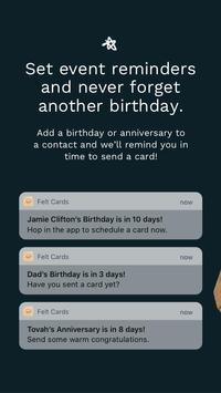 Felt: Birthday Cards, Greeting Cards & Thank You's screenshot 2