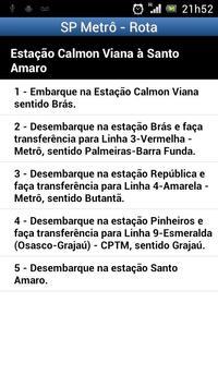 São Paulo Metrô screenshot 5
