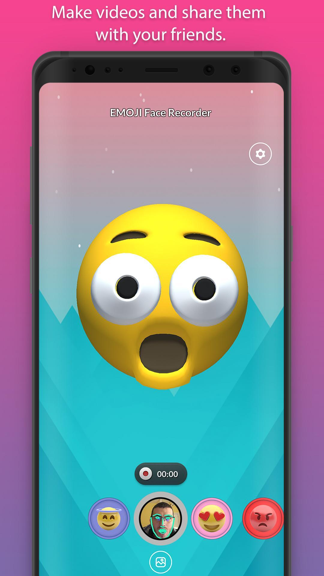 EMOJI Face Recorder app for Android download 2019