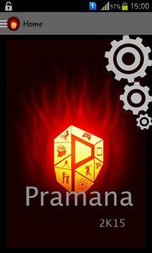 Pramana2k15 poster
