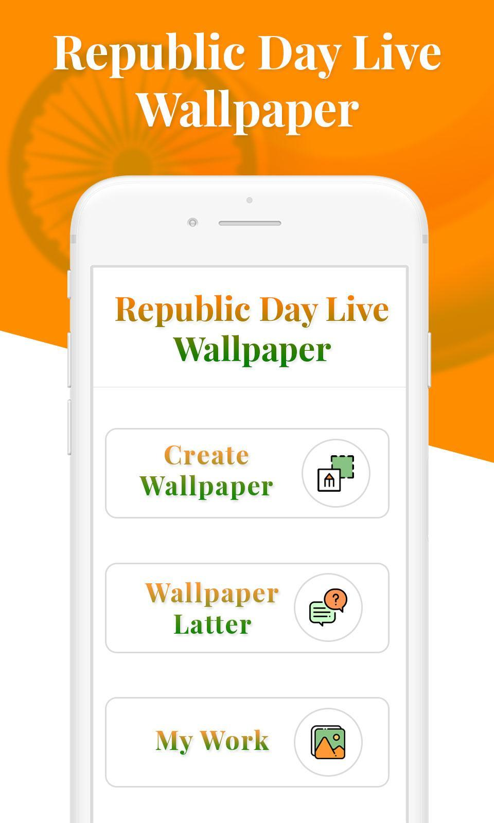 Republic Day 2019 Hd Wallpaper Name Art For Android Apk