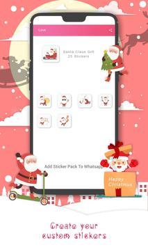 Christmas Sticker Pack for Whatsapp WastickerApps screenshot 10