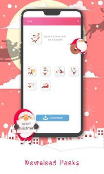 Christmas Sticker Pack for Whatsapp WastickerApps screenshot 13