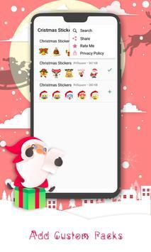 Christmas Sticker Pack for Whatsapp WastickerApps screenshot 2