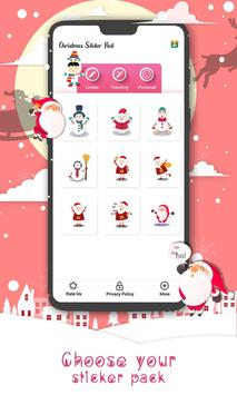 Christmas Sticker Pack for Whatsapp WastickerApps screenshot 6