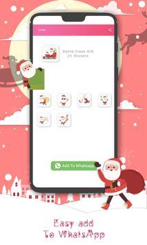 Christmas Sticker Pack for Whatsapp WastickerApps screenshot 9
