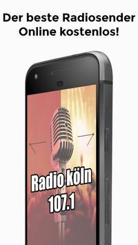 Radio köln 107.1 App DE Kostenlos Online poster