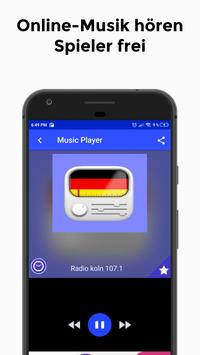 Radio köln 107.1 App DE Kostenlos Online screenshot 1