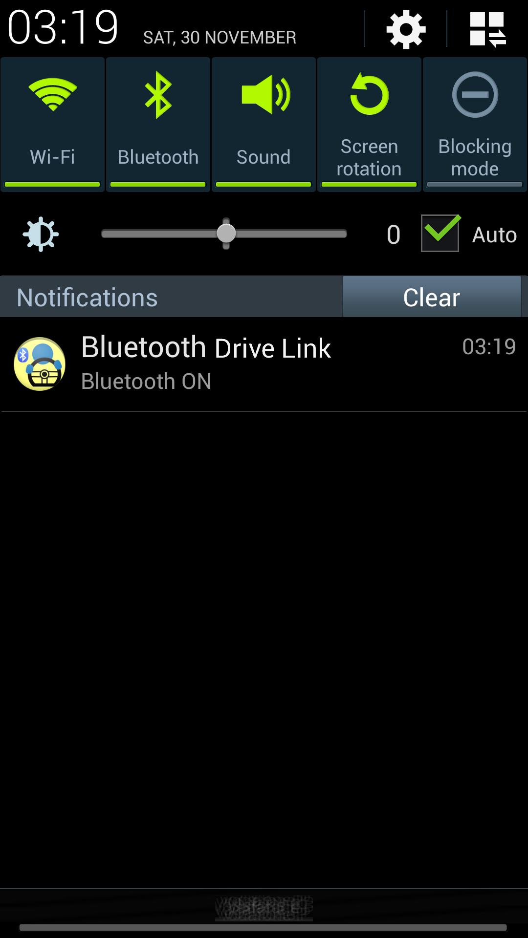 Bluetooth Drive Link - DEMO poster