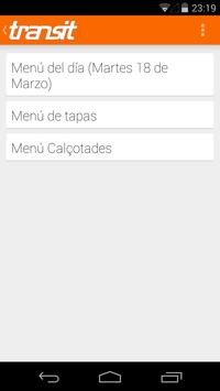 Restaurante Transit (Figueres) captura de pantalla 1