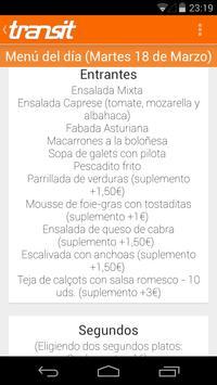 Restaurante Transit (Figueres) captura de pantalla 2