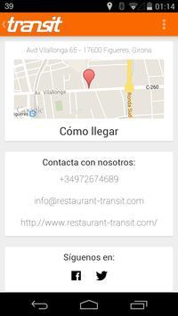 Restaurante Transit (Figueres) captura de pantalla 4