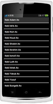 25 Nabi dan Rasul poster