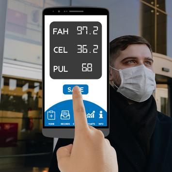 Fever Body Temperature Diary : Records History App screenshot 8