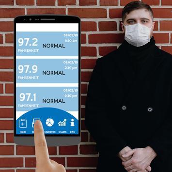 Fever Body Temperature Diary : Records History App screenshot 9