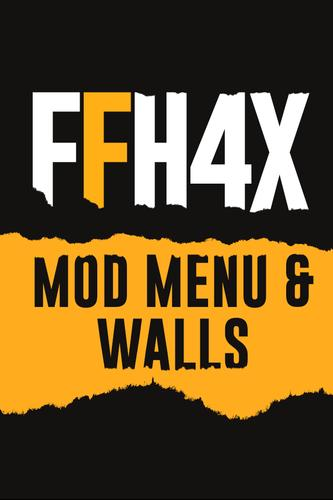 Download FFH4X Mod Menu & Walls For FF Apk For Android