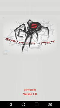 WI-FI Spider net poster