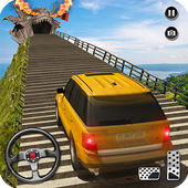 Cruiser Car Stunts: Dragon Road Driving Simulator icon