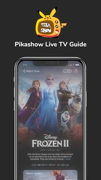PikaShow Free Live TV Guide 2021 स्क्रीनशॉट 1